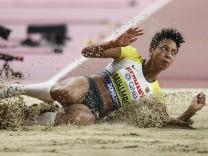 IAAF World Athletics Championships Doha 2019; Qatar, 06.10.2019 Malaika Mihambo (GER/LG Kurpfalz) am 06.10.19 im Khalif