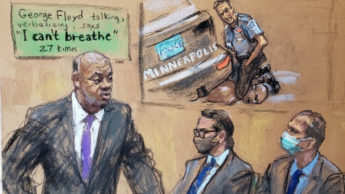 Murder trial of former Minneapolis police officer Derek Chauvin