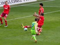 Fußball Wolfsburg 03.04.2021 1. Bundesliga / DFL Saison 2020 / 2021 VFL Wolfsburg - 1. FC Köln Tor zum 1:0 durch Josip