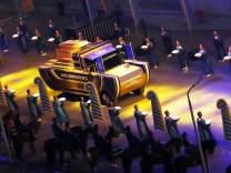 Pharaonen Parade Mumien