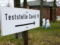 Coronavirus -Teststelle