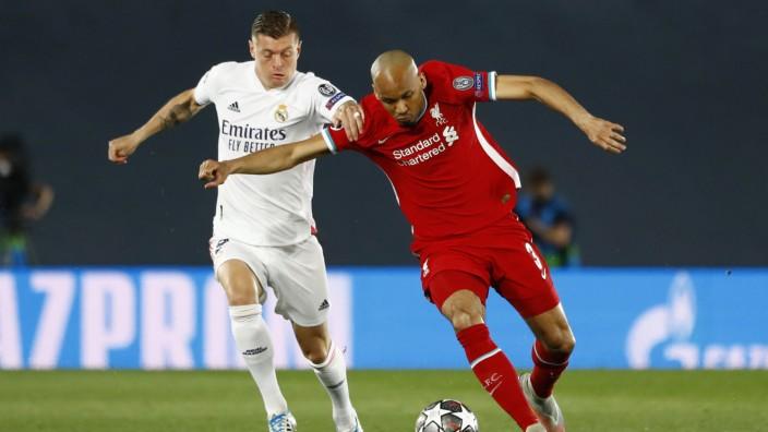 Champions League - Quarter Final - First Leg - Real Madrid v Liverpool