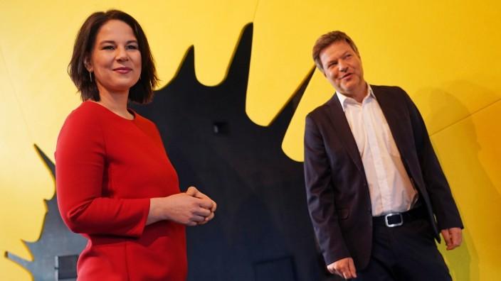 Die Grünen: Annalena Baerbock und Robert Habeck 2021 in Berlin