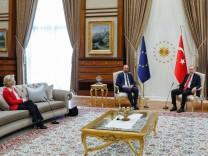 Die EU-Spitzen treffen Erdogan inAnkara