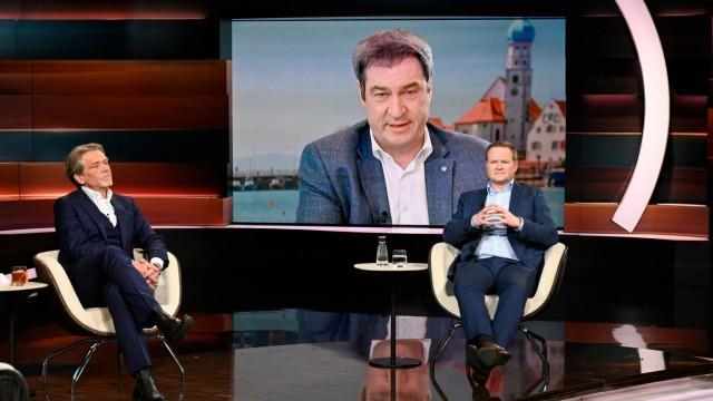 ZDF Talkshow 'Lanz'