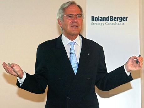 Roland Berger, Unternehmensberater; dpa