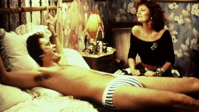 BULL DURHAM, Tim Robbins, Susan Sarandon, 1988 Orion Pictures Corp/Courtesy Everett Collection !ACHTUNG AUFNAHMEDATUM GE; Bull durham