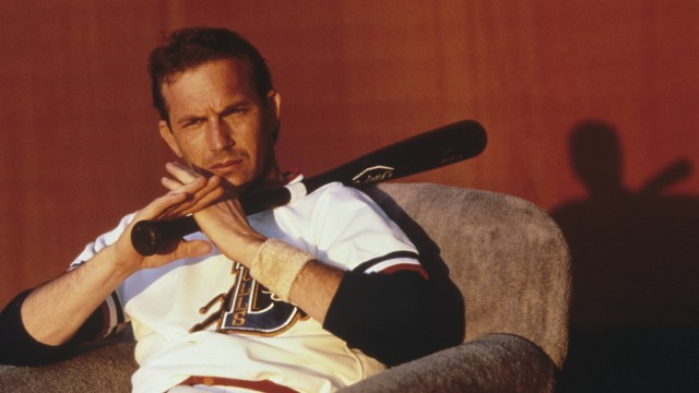Studio Publicity Still from Bull Durham Kevin Costner © 1988 Orion Pictures Photo Credit Matthew Na; Bull durham