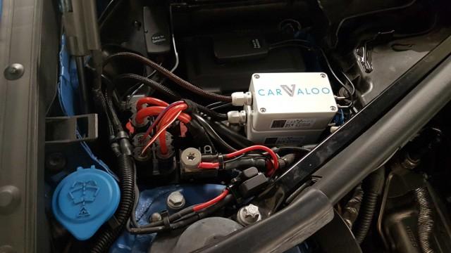 Carvaloo / Thyssenkrupp: Bild dieser Sensor-Box im Motorraum