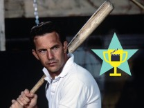 Studio Publicity Still from Bull Durham Kevin Costner © 1988 Orion Pictures Photo Credit Matthew Na