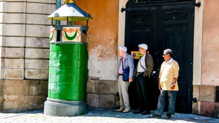 Pissoir, Urinal, Stockholm