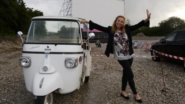 Diana Iljine beim Filmfest München Pop-up, 2020