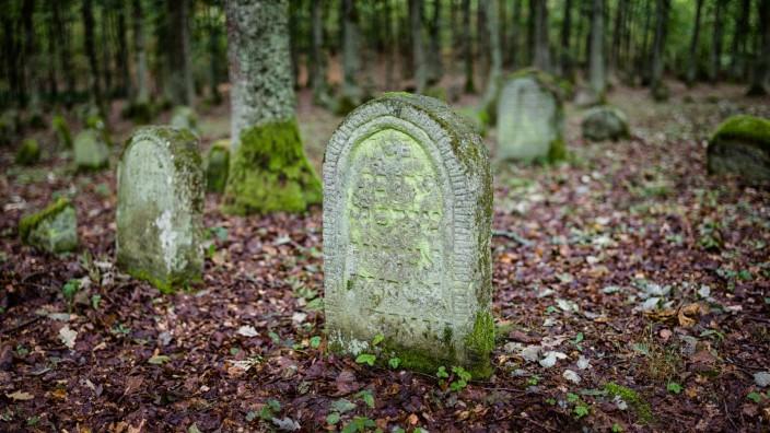 Jüdischer Friedhof bei Kleinbardorf, 2015