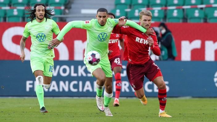 Maxence Lacroix, Sebastian Andersson / Aktion / Spielszene / Zweikampf / / Fußball Fussball / DFL erste 1.Bundesliga He