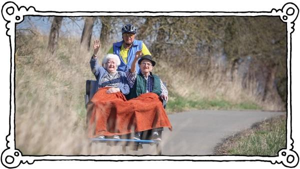 E-Rikschas: Neue Mobilität für Heimbewohner