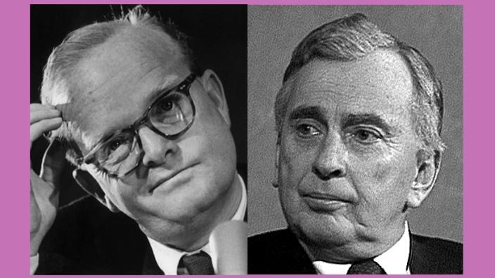 Truman Capote und Gore Vidal