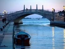 Venedig: Hereinspaziert