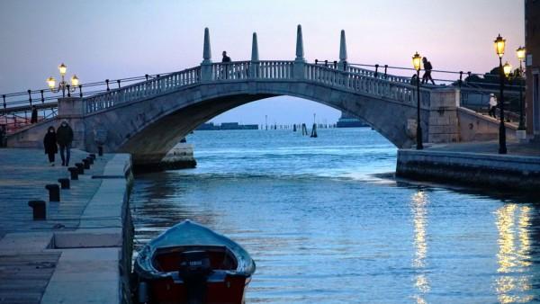 VENICE, LOCKDOWN SECOND SEASON Lockdown second season in Venice, water way in Arsenale area. Venezia Italy