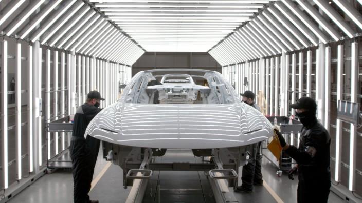 Pressebilder: Lucid Motors für WIR