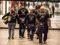 October 12, 2019, Munich, Bavaria, Germany: The right-extremist and Verfassungsschutz-monitored (Sec