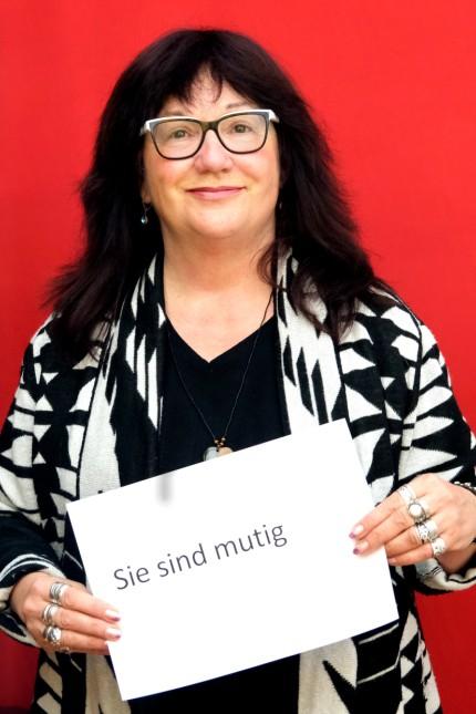 """Uschi Weber vom Mehrgenerationenhaus """"Unter den Arkaden"""" in Milbertshofen"""