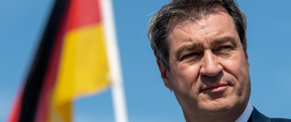 Söder erklärt seine und Laschets Bereitschaft zur Kandidatur