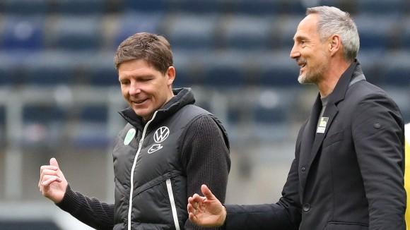 Frankfurt vs. VfL, 1. BL Frankfurt, 10.04.2021, FUßBALL - Eintracht Frankfurt vs. VfL Wolfsburg, 1. BL, Saison 2020/21,
