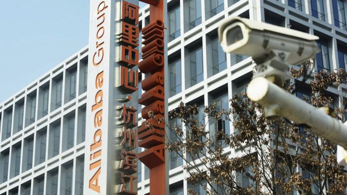 Milliardenstrafe gegen Alibaba