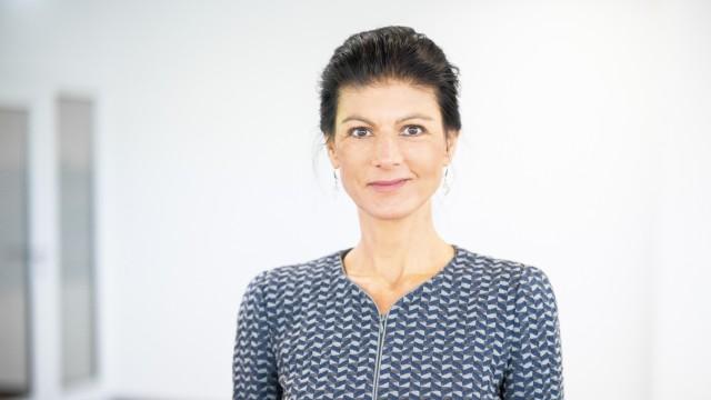 Die Linke in NRW: Politikerin Sarah Wagenknecht