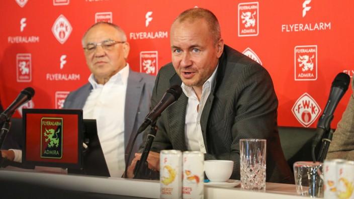 Pressekonferenz FLYERALARM Global Soccer; Wuerzburg; 20.01.2020 Vorstellung der neuen FLYERALARM Unternehmenseinheit Glo