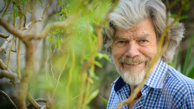 Reinhold Messner in München, 2020