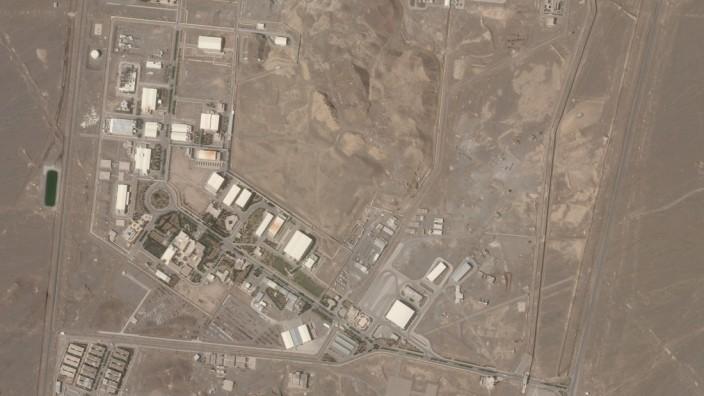 Explosion in iranischer Atomanlage