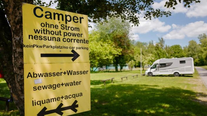 Campingplatz in Thalkirchen, 2020