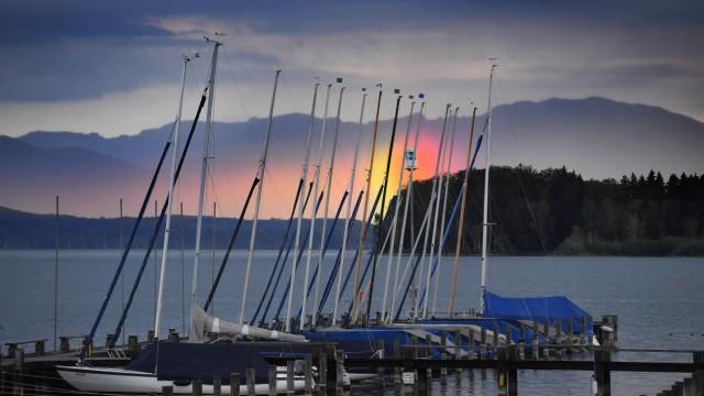 Abendstimmung am Starnberger See, 2018