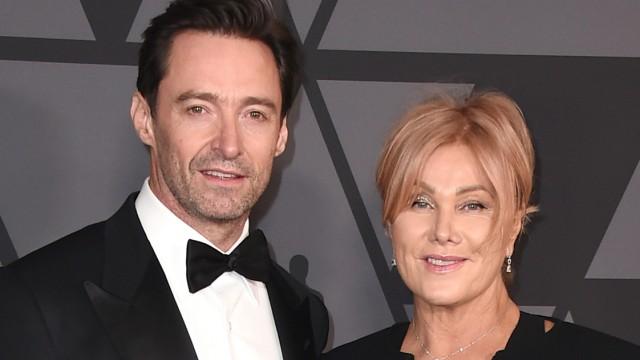 Schauspieler Hugh Jackman und Ehefrau Deborra-Lee
