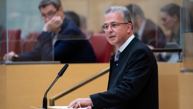 Coronavirus - Sitzung bayerischer Landtag