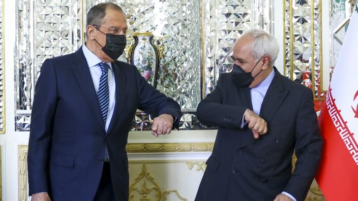 Russlands Außenminister Lawrow im Iran