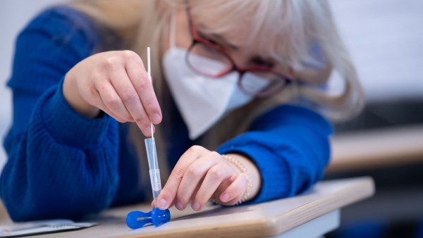 Coronavirus - Testpflicht an Schulen