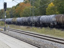 Bahntrasse zum Ausbau Brennertunnel: Bahngleise in Haar