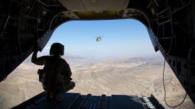 October 14, 2018 - Jalalabad, Afghanistan - The United States is the number one supplier of airborn
