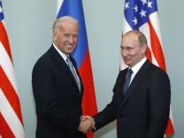 Joe Biden und Wladimir Putin