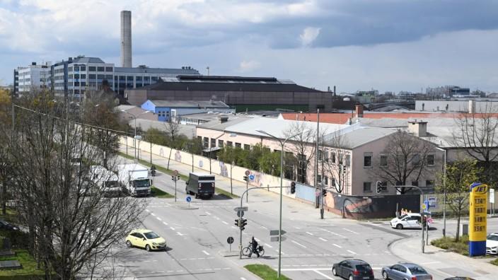 Urbane Gebiete: Raum für Nachverdichtung: Am Frankfurter Ring im Münchner Norden soll es künftig neben Gewerbe auch mehr Wohnungen geben.