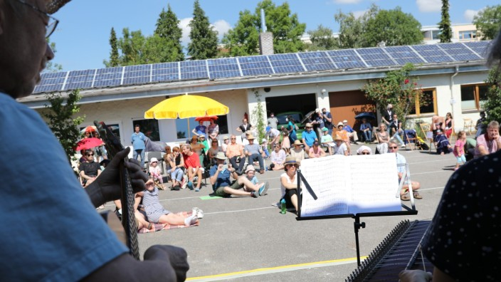 Olching:  Open Air Infotag der Musikschule 3klang