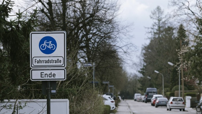 Neue Fahrradstraße in Ottobrunn