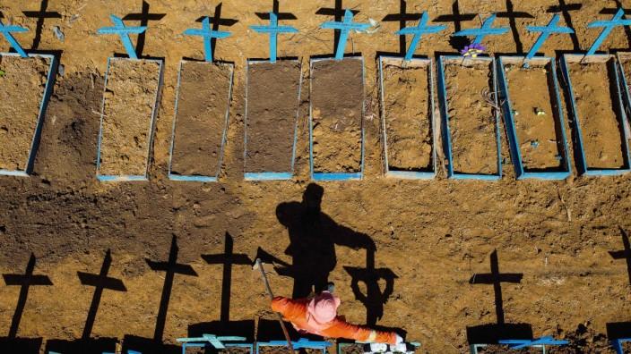 Coronavirus: Friedhof in Brasilien