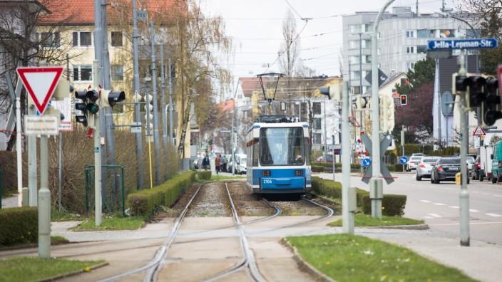 Tram St.-Veit-Straße