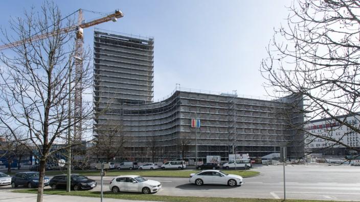 Baustelle Carl-Wery-Straße 35