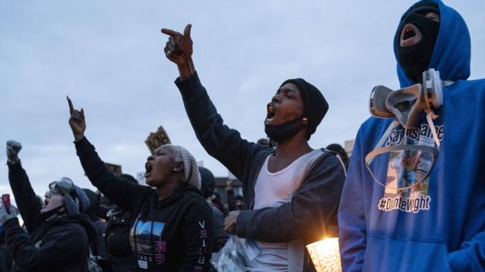Proteste gegen Polizeigewalt in den USA