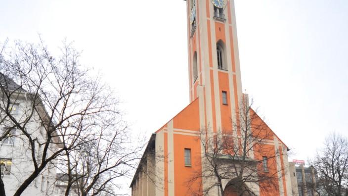 Kirche St. Markus in München, 2014