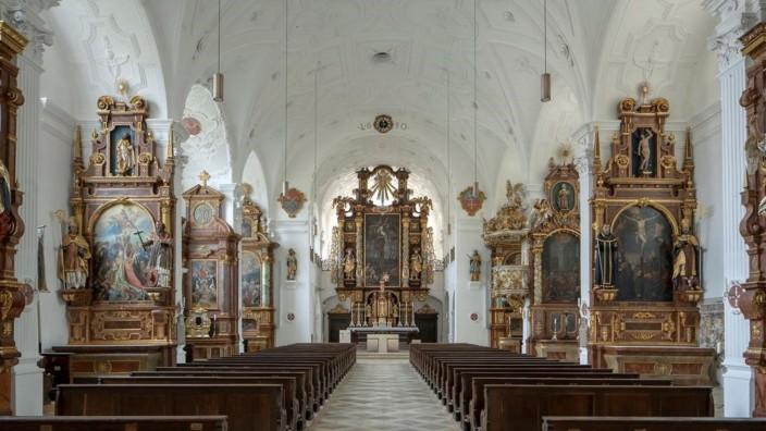 Sanierungsarbeiten Pfarrkirche Beuerberg